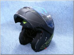 Flip-Up Helmet N964 Shade - Blackmat/yellow ( NOX )