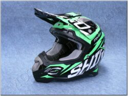 Children Cross Helmet MX-917 Thunder Verde Fluor ( SHIRO )