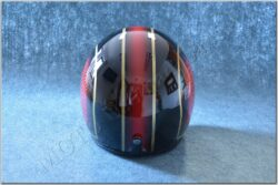 Jet Helmet JET FIBER - red / gold ( MTR )(890906M)