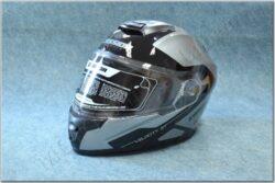 Flip-Up Helmet Velocity ST - Titanium/schwarz ( CASSIDA )