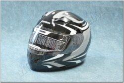 Full-face Helmet Integral 2.0 - black/white/grey ( CASSIDA )