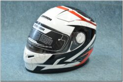 Full-face Helmet Evo - black/white/red ( CASSIDA )