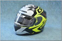 Full-face Helmet Integral 2.0 Perimetric - yellow/black/white ( CASSIDA )