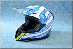 Cross Helmet X1.9 - White/blue/yellow/black ( ZED ) child