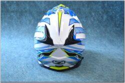 Cross Helmet X1.9 - White/blue/yellow/black ( ZED ) child(891004M)
