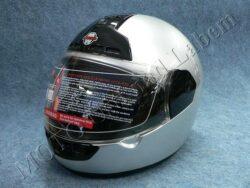 Helmet FF1 - silver ( Motowell ) Size XL(890103)