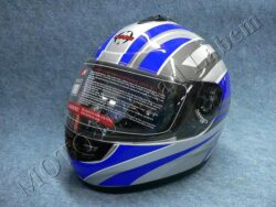 Full-face Helmet FF2 - future silver ( Motowell )(890141M)
