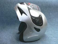 Helmet FU2 - silver ( Motowell ) Size S