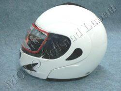 Flip-Up Helmet FU2 - white ( Motowell )(890325M)