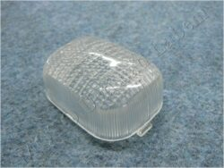 Glass square, turn signal light