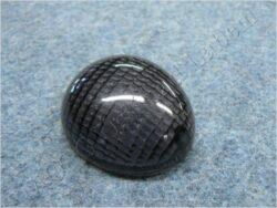 Glass oval, turn signal light