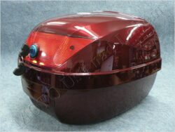 Tour tail trunk KIPPO red metallic paint