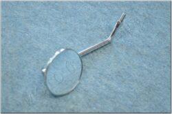 Rear view mirror circle M10x1,25 RH mini, SM-823 ( UNI )