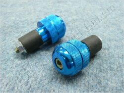 Bar Ends,Handlebar 340022 ( UNI ) blue