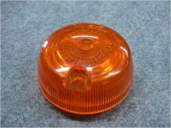 Glass round, turn signal light