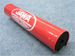 Protective pad, handlebar JAWA ( UNI ) red/white