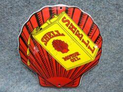 Logo SHELL - red 120 mm