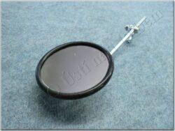 Rear view mirror circle w/ clamp ( UNI )