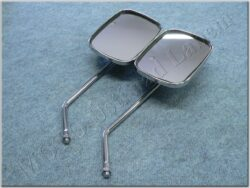 Rear view mirror assy. R.+L. oval M10x1,25 2RH ( UNI )