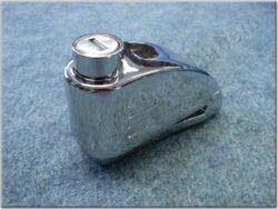 Brake disc lock w/ alarm - chrome ( TOKOZ )(900712)