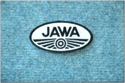 patch JAWA white-black (85 x 42 mm)
