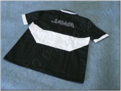 Shirt black-white logo Jawa(930210M)