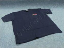 T-shirt blue w/ picture Jawa 550