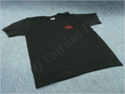 T-shirt black w/ red logo JAWA