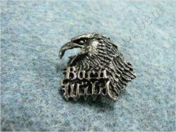 Pin badge Eagle head ( Born Wild )