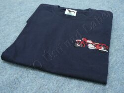 T-shirt blue w/ picture Jawa Perak, Size XXL(930475)