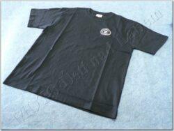 T-shirt blue w/ white logo ČZ