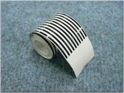 Sticker black lines ( UNI ) 1,5x1500 mm