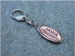 Pendant JAWA oval white-red