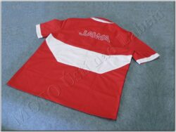 Shirt red-white logo Jawa - Size S(930634)
