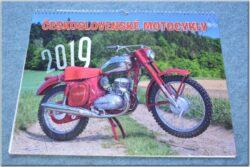kalendář 2019 - Československé motocykly ( 420x315 )