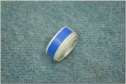 Sticker blue line ( UNI ) 10x1500 mm