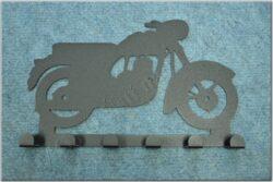 6-peg rack - Motorcycle Theme / Jawa Kyvacka