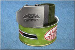 belt JAWA / textile khaki - size 150cm