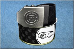 belt ČZ / textile black - size 150cm