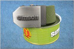 Gürtel SIMSON / Textil Khaki - Größe 150cm
