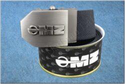 belt MZ / textile black - size 150cm