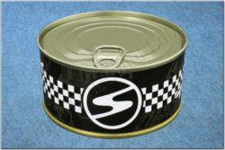 belt TRABANT / textile black checkerboard - size 150cm(930825)