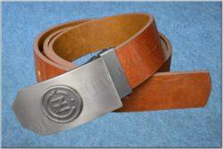Belt ČZ brown - Size 110 cm