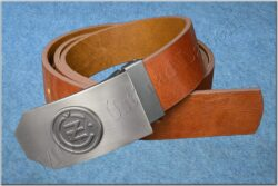 Belt ČZ brown - Size 120 cm