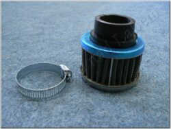 Air filter racing  D28, intake ( UNI ) cone little