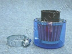 Air filter racing  D42, intake, w/ cover ( UNI ) cone little