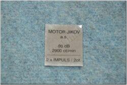 sticker  MOTOR JIKOV a.s.
